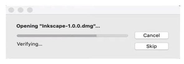 Abriendo inkscape mac
