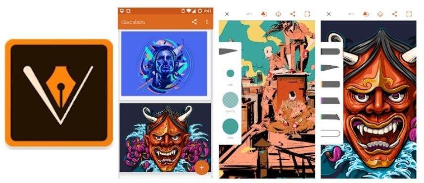 Adobe Illustrator Draw alternativa inkscape android