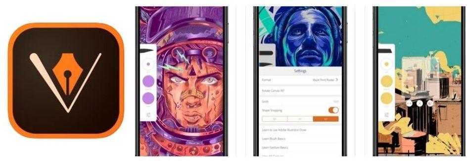 Alternativa Inkscape Ipad Adobe Illustrator Draw