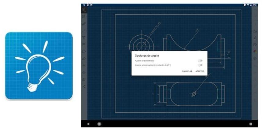 Skedio alternativa inkscape android