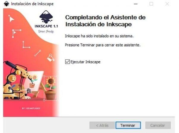 fin instalacion inkscape windows