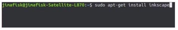 instalacion completada inkscape linux