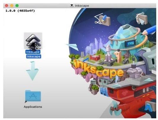 instalacion inkscape mac